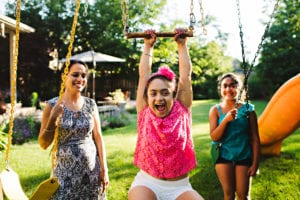 Pavneet, Bandagi and Annie. Photo by Hilary Gauld-Camilleri