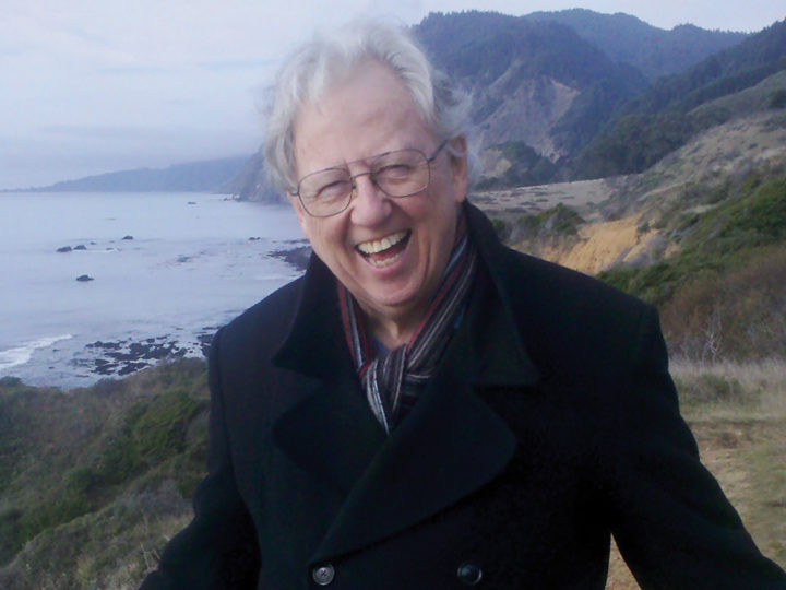 Donald Grayston on Cortes Island, B.C., in 2004. Photo courtesy of the Grayston family
