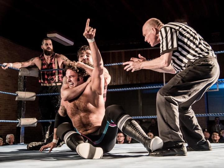 Eastminster United Church in Toronto regularly hosts Greektown Wrestling. Photo: Facebook