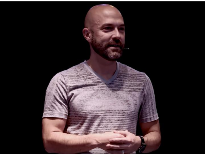 Joshua Harris in a TEDx talk from 2017, in which he talks about getting it wrong with