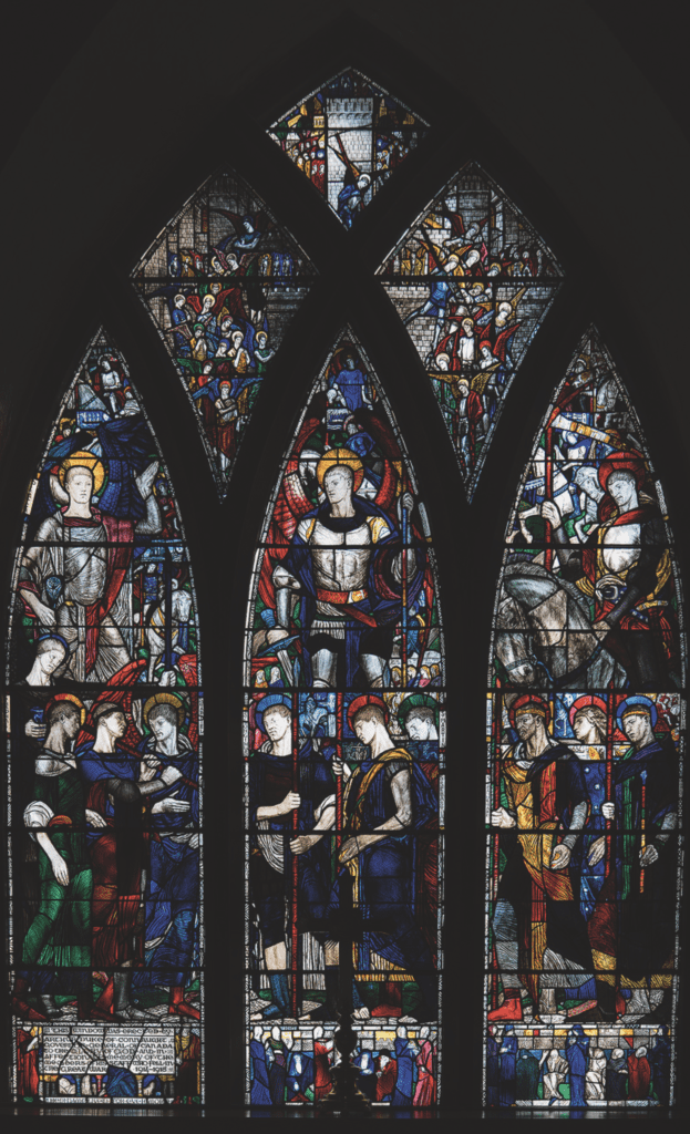 The east window at the Church of St. Bartholomew in Ottawa was unveiled in November 1919. (Photo: David Clendenning)