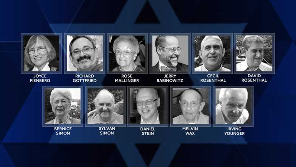 Victims of the attack on the Tree of Life Synagogue. (Photo: Screengrab via WTAE Pittsburgh)