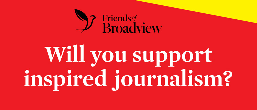 Will you support inspired journalism?